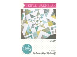 Amy Gibson Triple Barnstar Pattern