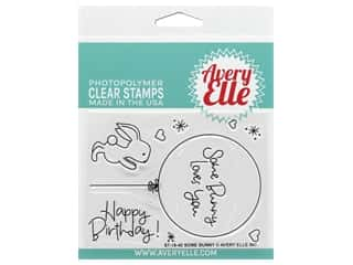 scrapbooking & paper crafts: Avery Elle Clear Stamp Some Bunny