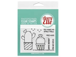 scrapbooking & paper crafts: Avery Elle Clear Stamp Stuck On You