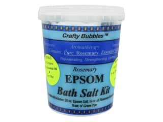 Crafty Bubbles Epsom Bath Salt Kit Rosemary