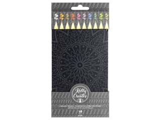 colored pencils: American Crafts Collection Kelly Creates Starlight Pencils 10 pc