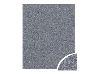 scrapbooking & paper crafts: Paper Accents Glitter Cardstock 22 x 28 in. Onyx 10 pc.