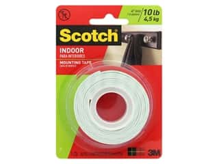 glues, adhesives & tapes: Scotch Mounting Tape Heavy Duty 1 in. x 50 in.
