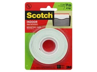 glues, adhesives & tapes: Scotch Mounting Tape Heavy Duty .5 in. x 75 in.