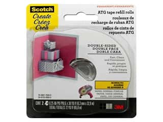 Scotch Advanced Tape Glide 1/4 in. x 36 yd. Refill General Purpose 2 pc.