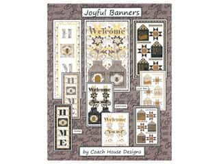 books & patterns: Coach House Designs Joyful Banners Pattern