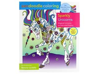 Castle Point Zendoodle Sparkly Unicorns Coloring Book