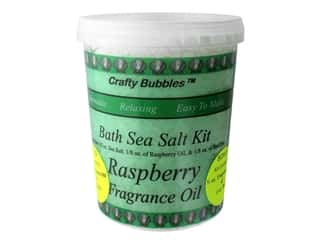 Crafty Bubbles Bath Sea Salt Kit Raspberry