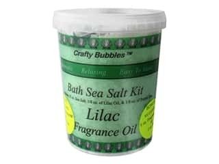 Crafty Bubbles Bath Sea Salt Kit Lilac