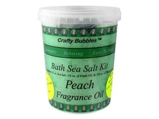 Crafty Bubbles Bath Sea Salt Kit Peach