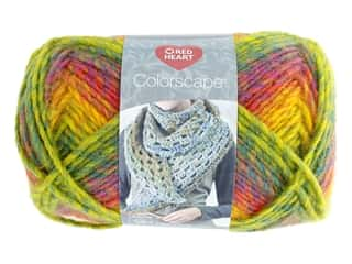 yarn & needlework: Coats & Clark Red Heart Colorscape Yarn 3.5 oz Acapulco