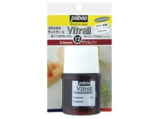 Resinate Vitrail 20ml Transparent Crimson
