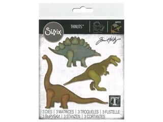 Sizzix Tim Holtz Thinlits Die Set 3 pc. Prehistoric