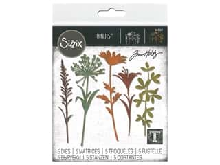 Sizzix Dies Tim Holtz Thinlits Wildflower Stems #2