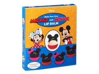 craft & hobbies: Becker&Mayer Kit Make Your Own Lip Balm Mickey & Minnie