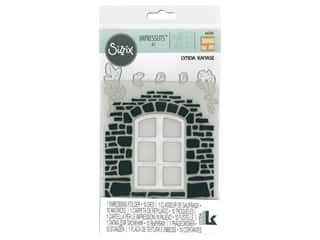 Sizzix Impresslits Emboss Folder Lynda Kanase Window Box
