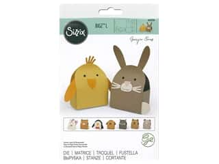 Sizzix Dies Georgie Evans Bigz Large Animal Box #2