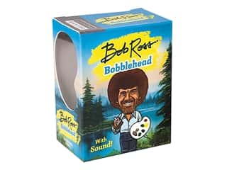 novelties: Running Press Bob Ross Bobblehead