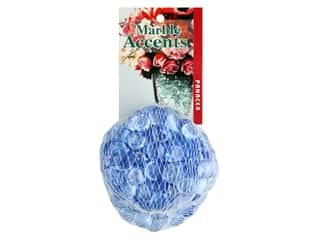 floral & garden: Panacea Decorative Accents Glass Gems Mini 12 oz Sky Blue