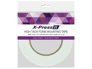 X-Press it High Tack Foam Tape .5 in. x 4.4 yd