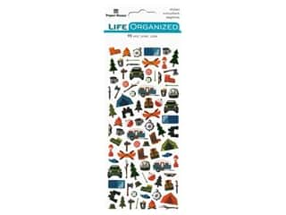 scrapbooking & paper crafts: Paper House Collection Life Organized Sticker Micro Outdoors