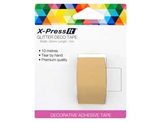 X-Press it Deco Tape Paper 1 in. x 11 yd Kraft