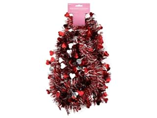 novelties: Darice Mini Valentine's Day Garland 9 ft.