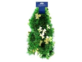 craft & hobbies: Darice Shamrock Garland 9 ft.