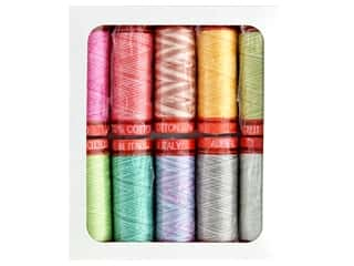 Aurifil Thread Cotton Mako 50 wt 200 M Tula Pink Collection Premium 10 pc