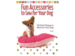 books & patterns: Companion House Fun Accessories To Sew For Your Dog Book
