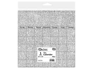 scrapbooking & paper crafts: Paper Accents Calendar Page 12 x12 in. Tin 1 pc.