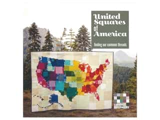 Carolina Patchworks United Squares Of America Book