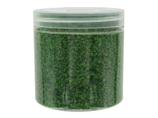 novelties: Darice Fairy Garden Grass 1 oz. Dark Green