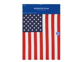 novelties: Darice Mini Garden Flag 12 x 18 in. American Flag