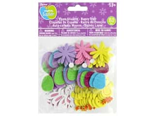 craft & hobbies: Darice Foamies Sticker Easter Bunny Trail