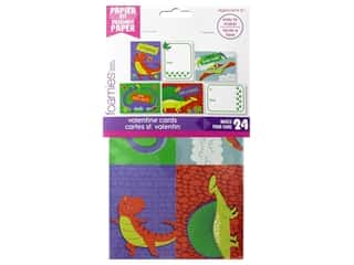 Darice Foamies Kit Paper Valentine Card With Wiggle Eyes Dino