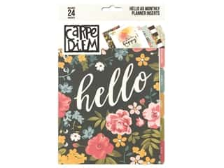 Simple Stories Collection Carpe Diem Hello A5 Planner Monthly