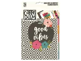 Simple Stories Collection Carpe Diem Good Vibes A5 Planner Monthly