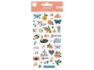 bird sticker: Crate Paper Stickers Journal Studio Puffy