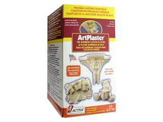 resin: Activa Art Plaster 5 lb.
