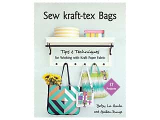 Stash By C&T Sew Kraft-Tex Bags Book