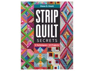 C&T Publishing Strip Quilt Secrets Book