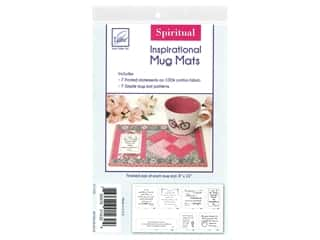 books & patterns: June Tailor Kit Inspirational Mug Mat Cotton Panel Spiritual