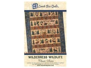 books & patterns: Lunch Box Quilts Wilderness Wildlife Pattern