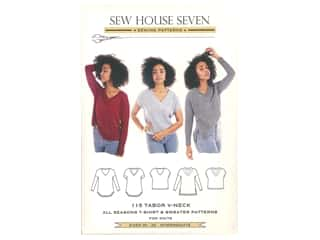 books & patterns: Sew House Seven Tabor V-Neck Pattern