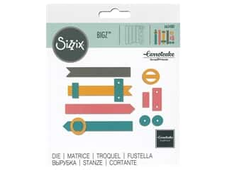 scrapbooking & paper crafts: Sizzix Dies Carrotcake Bigz Book Closures