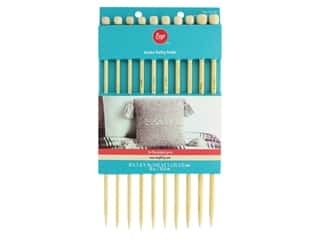 yarn & needlework: Boye Needle Sets Bamboo Knitting Needles 10 in. Set