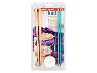 yarn & needlework: Boye Kits I Taught Myself To Knit With Bulky Yarn