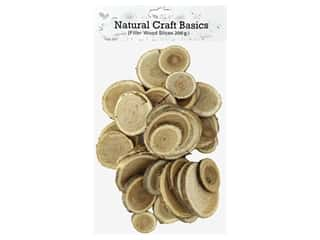 Sierra Pacific Crafts Wood Slices Mixed Sizes Natural