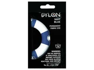 craft & hobbies: Dylon Permanent Fabric Dye 1.75 oz. Navy Blue